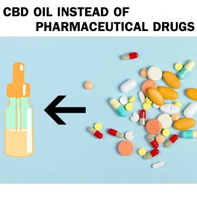cbd oil instead of paraceutical drugs